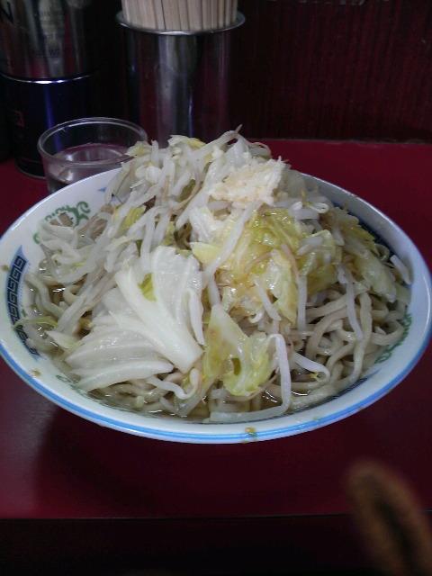 二郎目黒店野菜・ニンニク