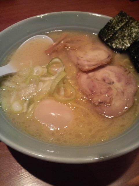 海老名 古寿茂(こすも) 鶏白湯らーめん 塩
