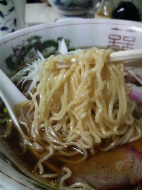 ザ・ラーメン屋の麺