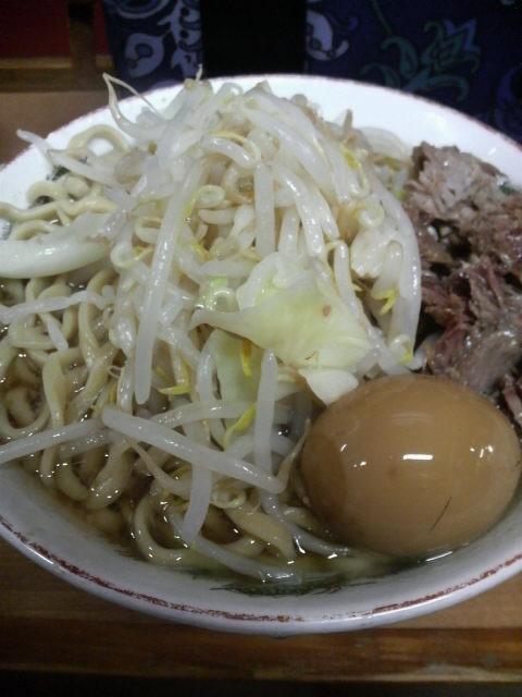 ラーメン二郎高田馬場店 ラーメン