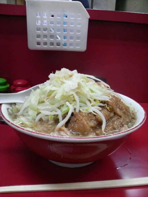 ラーメン二郎 京急川崎店 小ブタ野菜マシ