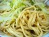ラーメン二郎 小岩店の麺