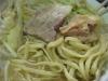 ラーメン二郎品川店の麺とかチャーシューとか