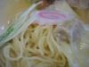 生竜 塩ワンタン麺の麺