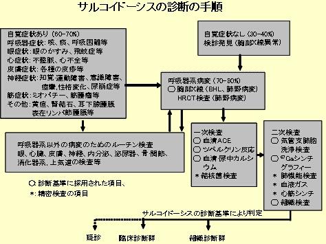 サルコイドーシス 診断 基準