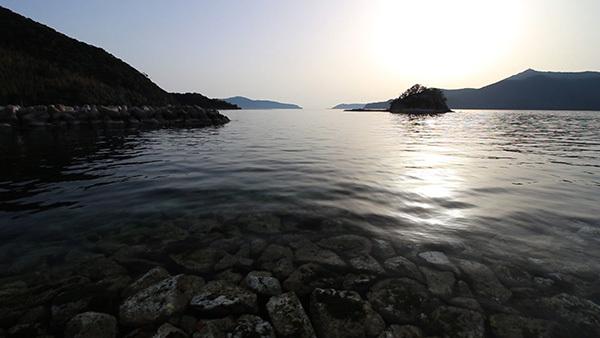 日須賀の海岸