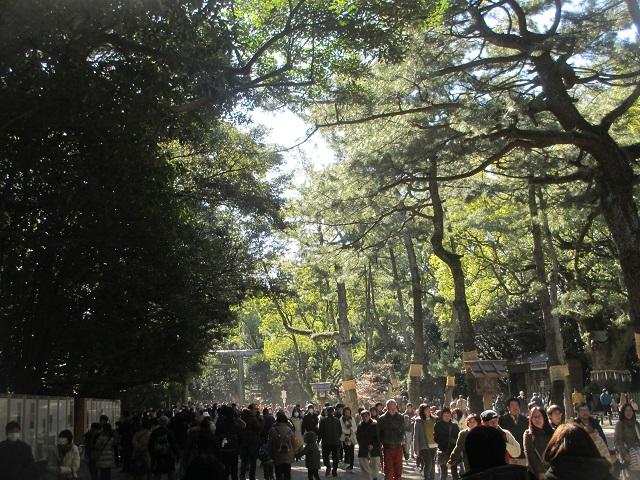 熱田神宮初詣�