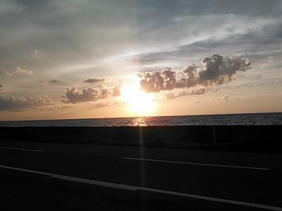 珠洲の夕陽