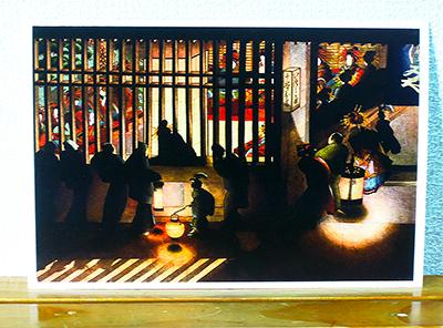 葛飾応為「吉原格子先之図」 ─ 光と影の美 | 取材レポート | インターネットミュージアム