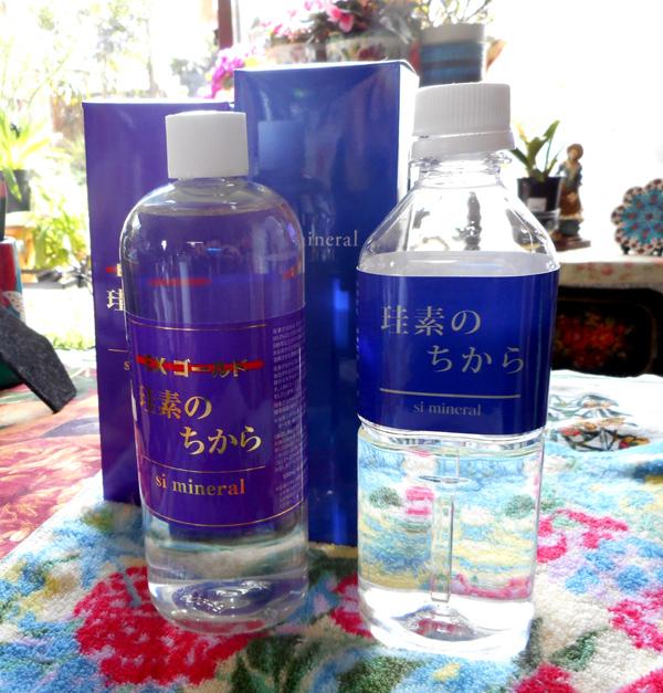 水溶性ケイ素の効果効能