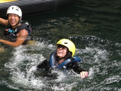 水上 ラフティング カヌー アンクルベアー