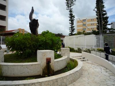 沖縄国際大学(米軍ヘリ墜落事故跡地)
