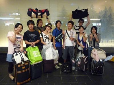 台風8号をやり過ごし、無事帰京したサバイバーたち。
