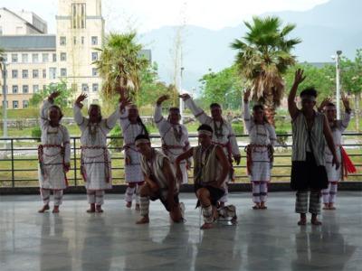 台湾先住民の歓迎舞踊