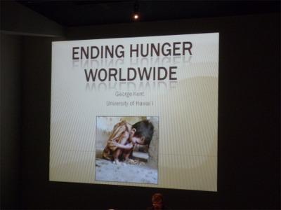 共通部会_飢餓問題の報告