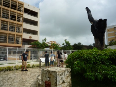 沖縄国際大学・米軍ヘリ墜落現場