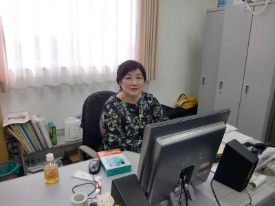 菅原牧子先生の研究室に訪問! |...