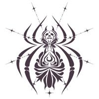トライバル的な蜘蛛