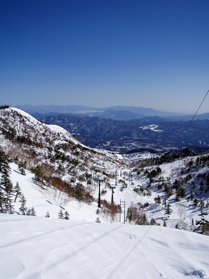 ropeway in Mt.Shirane