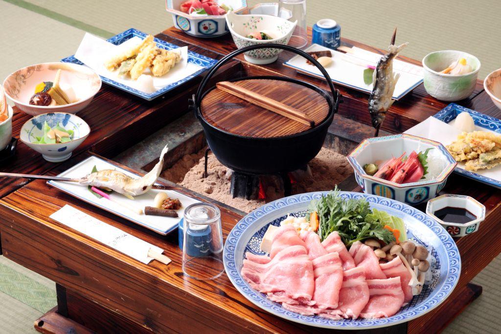 IRORI dinner