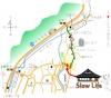 古民家 Cafe Slow Lifeの地図