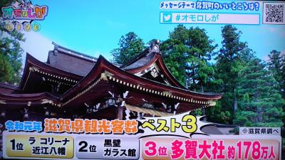 なんと滋賀県で3位!