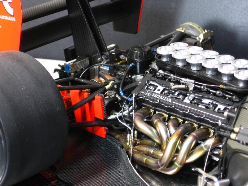 Tamiya 1 12 Mclaren Mp4 6 Honda Japanese Gp Carat Diamond