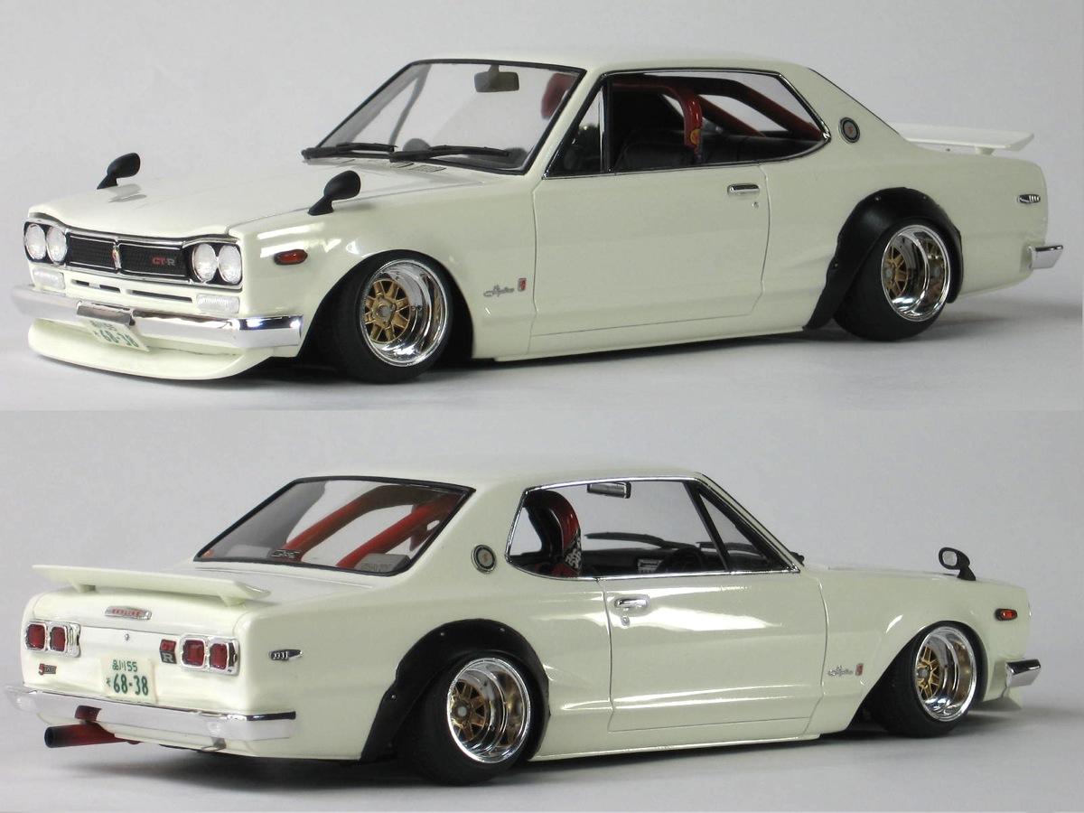 Tamiya 1/24 SKYLINE 2000 GT-R ...