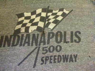 USED INDIANAPOLIS 500 SPEEDWAY インディ500 T-SHIRTS
