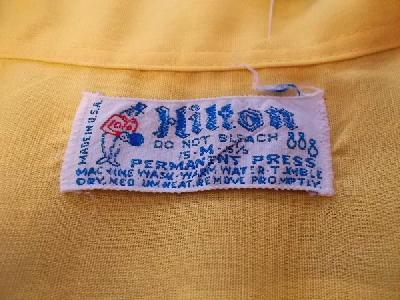 70年代 Hilton ヒルトン ボーリングシャツ