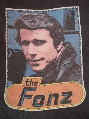70年代 RUSSELL ラッセル Happy Days ハッピーデイズ Fonz フォンジー T-SHIRT
