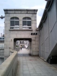 跳ね橋の面影