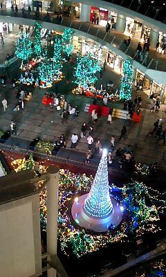 ラゾーナクリスマスイルミネーション3