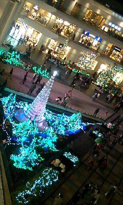 ラゾーナクリスマスイルミネーション5