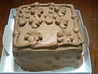 トップスのチョコケーキ