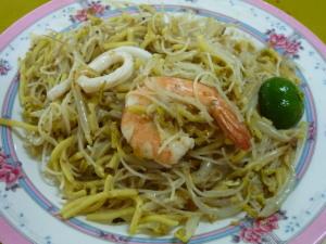 海南福建炒蝦麺のフライドホッケンミー
