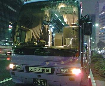 東京発・夜行バス