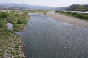 5月の四国物部川