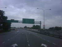 高速道路を走るコース