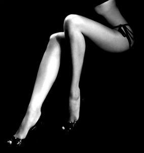 セクシーな足