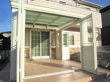 ガーデンルーム:NEW暖蘭物語のドアオープン