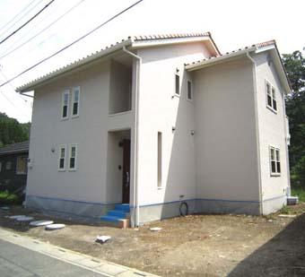 かわいらしい新築のお家
