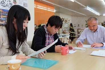 建築基準法についての勉強会の様子
