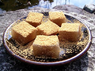 中村軒のわらび餅