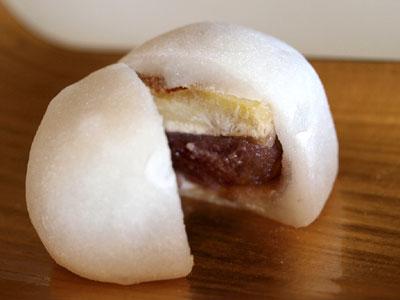 中村軒の栗餅