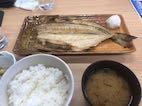 焼魚定食 700円也(税別)