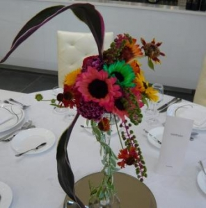 ウェディング会場装花です。