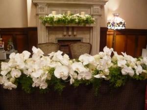 メインテーブル装花です!