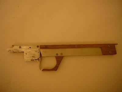 機関部と銃身組みあがり