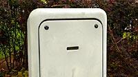 ロボットの顔に見える